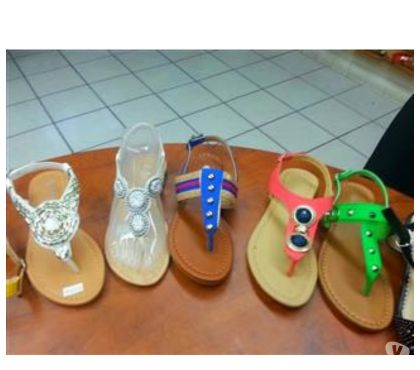 Fotos de sandalias de damas por mayoreo $3.99