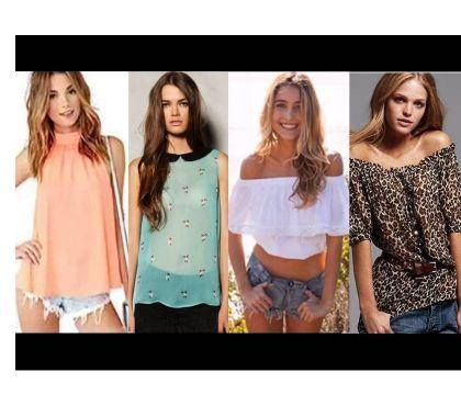 Fotos de blusas fashion de mayoreo $3.99 por unida