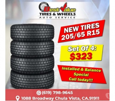 Fotos de NEW TIRES 20565R15