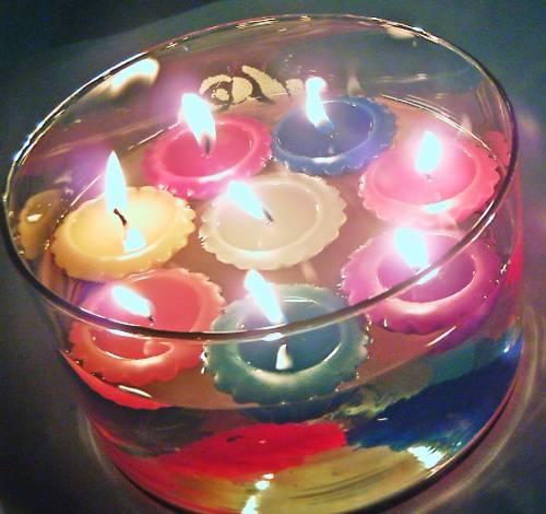 Fotos de Velas decorativas, aromáticas, publicitarias, para eventos